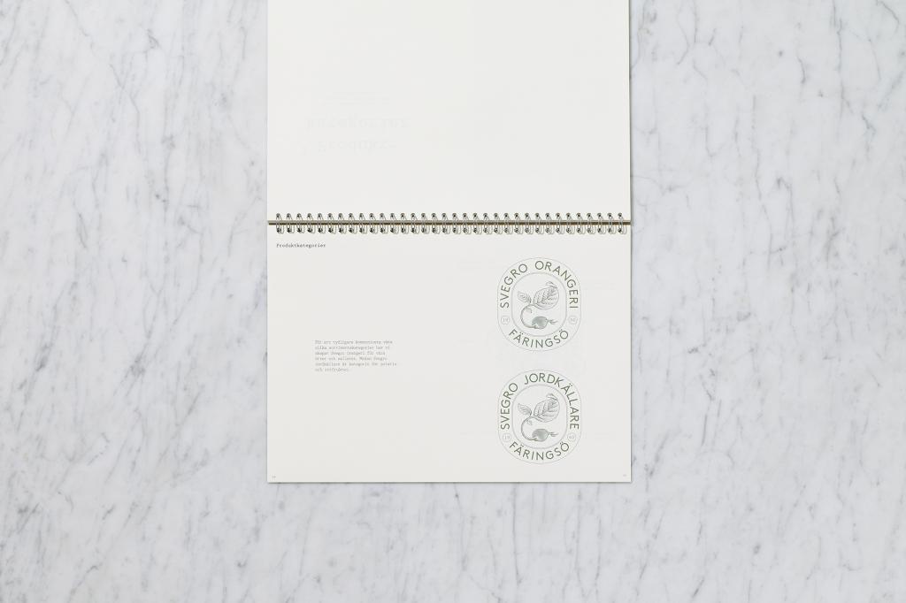 Svegro Identity | Graphical Manual Orangeri & Jordkällare