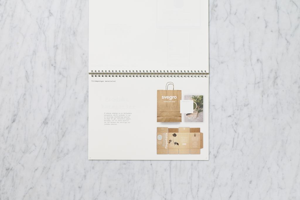 Svegro Identity | Graphical Manual Usage