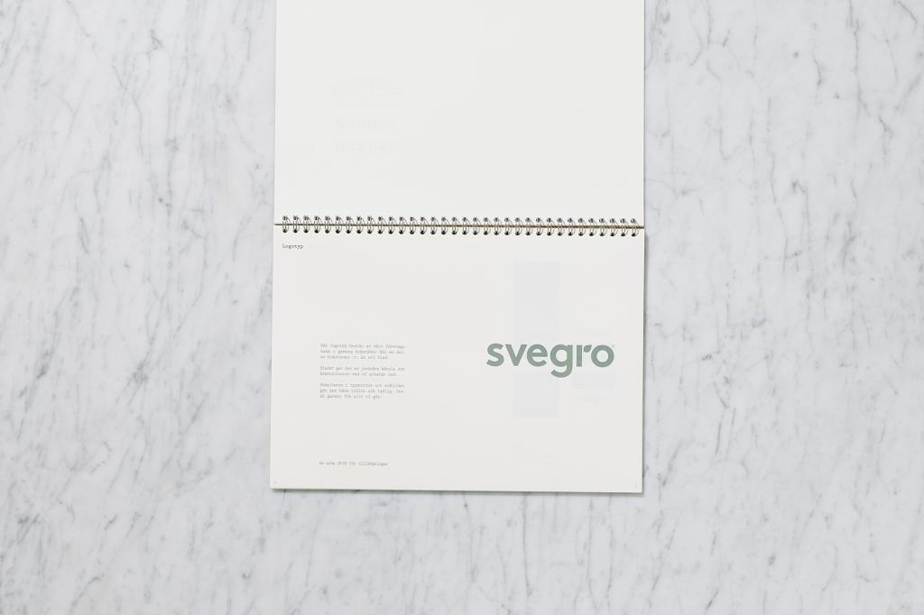 Svegro Identity | Graphical Manual Logotype