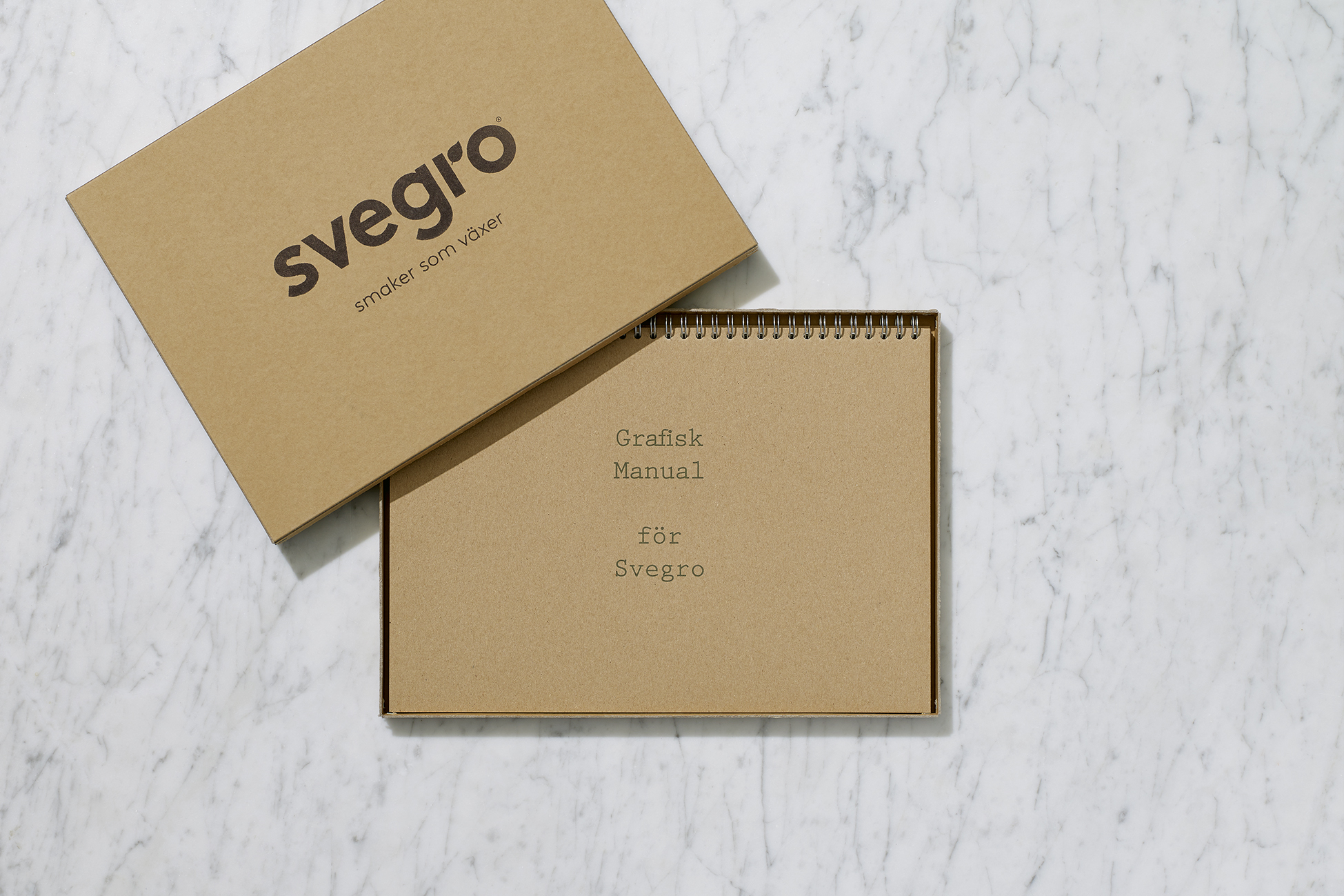 Svegro Identity | Graphical Manual Box