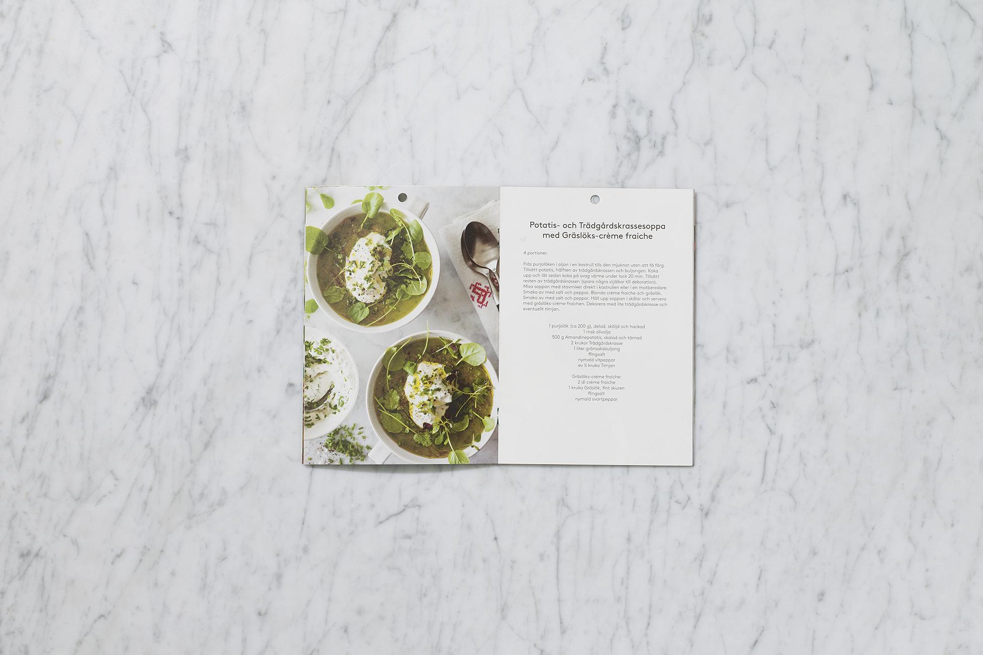 ÖPPET Graphic Design Brochure for Svegro