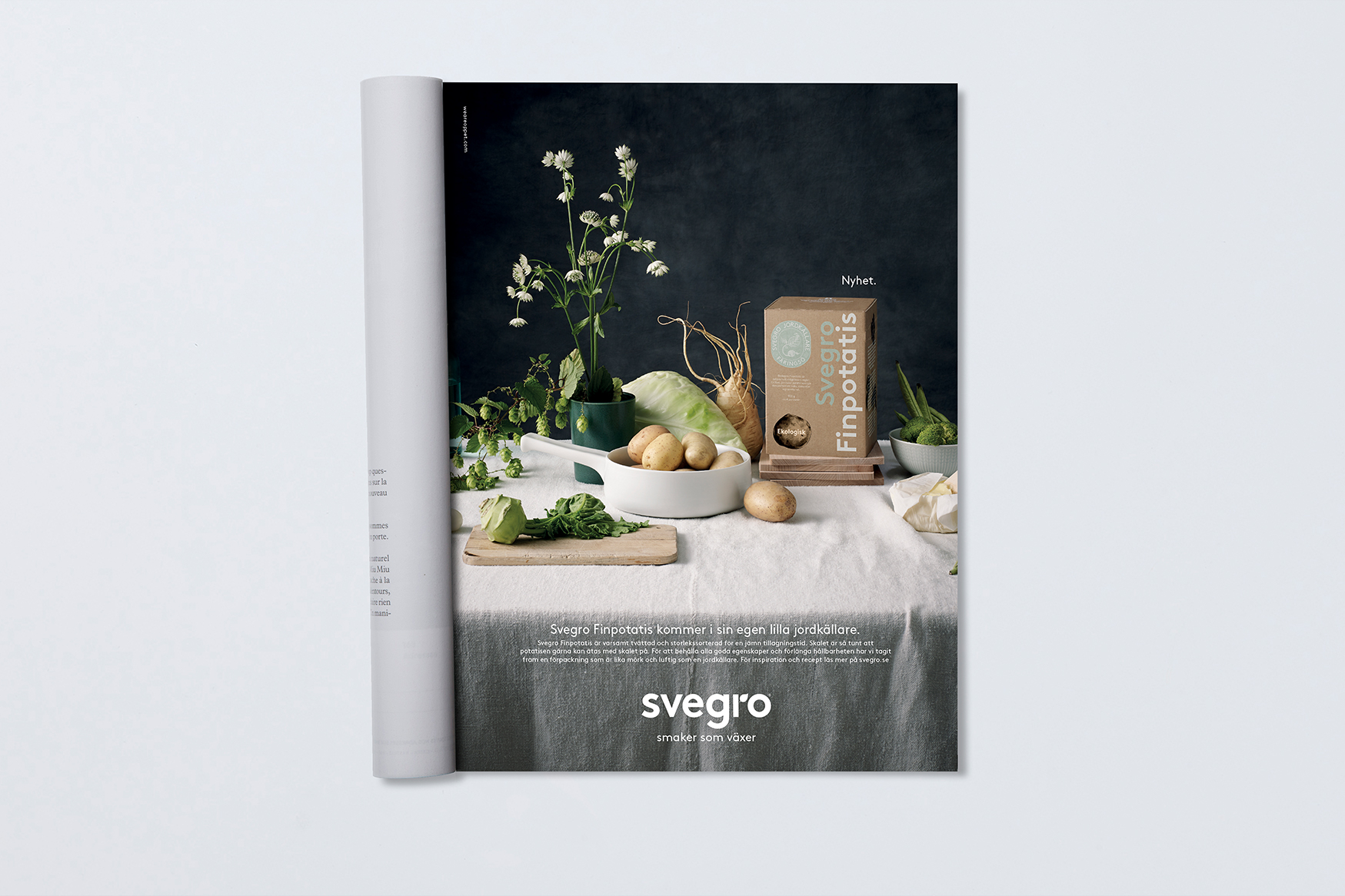 Svegro Finpotatis | Din egen lilla jordkällare | Advertising by We are ÖPPET