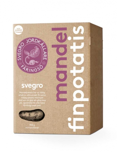 Svegro Jordkällare | Packaging Design | Mandel Finpotatis