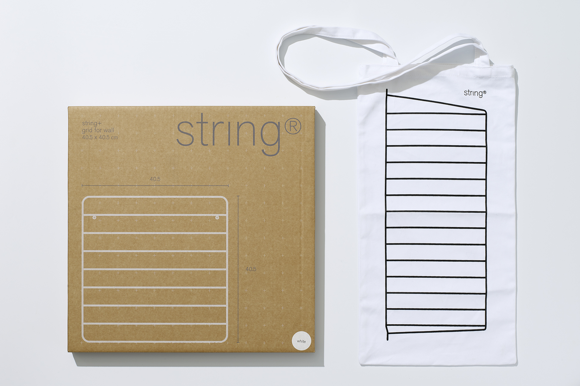 String packaging & tote bag