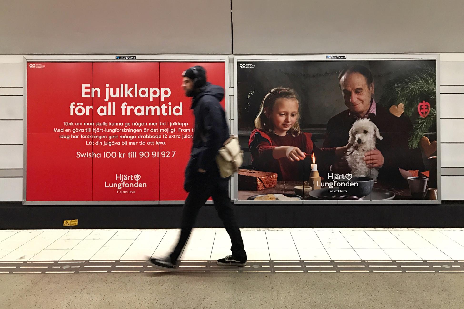 Hjärt-Lungfonden | En julklapp för all framtid | Subway